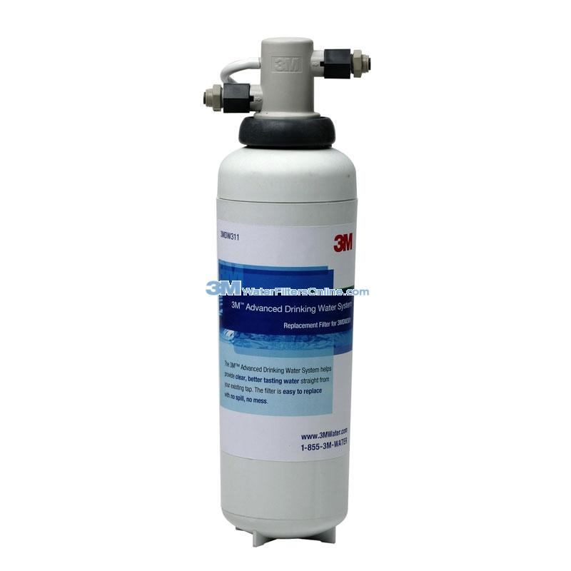3M 3MDW301 Drinking Water System and 3M #MDW311 Replacement Water Filter