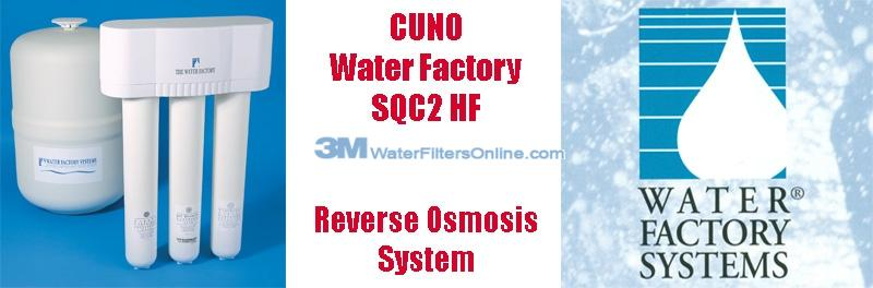 Water Factory SQC2 HF 3M CUNO Reverse Osmosis System
