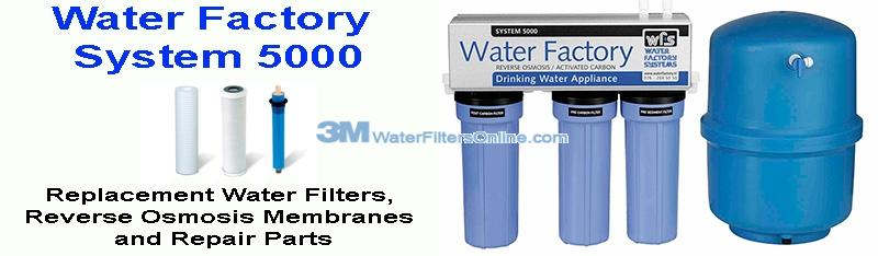 Water Factory System 5000 Reverse Osmosis Water Filters