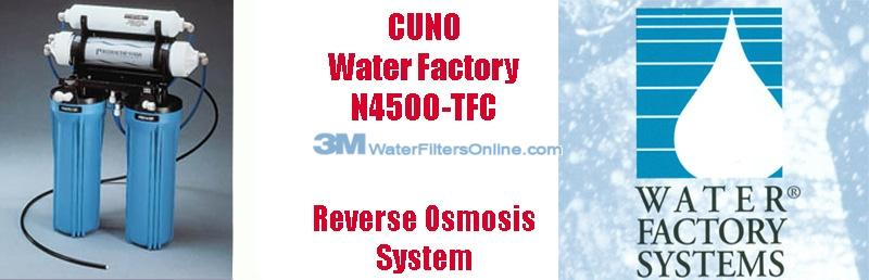 Water Factory N4500 4 Stage Reverse Osmosis System